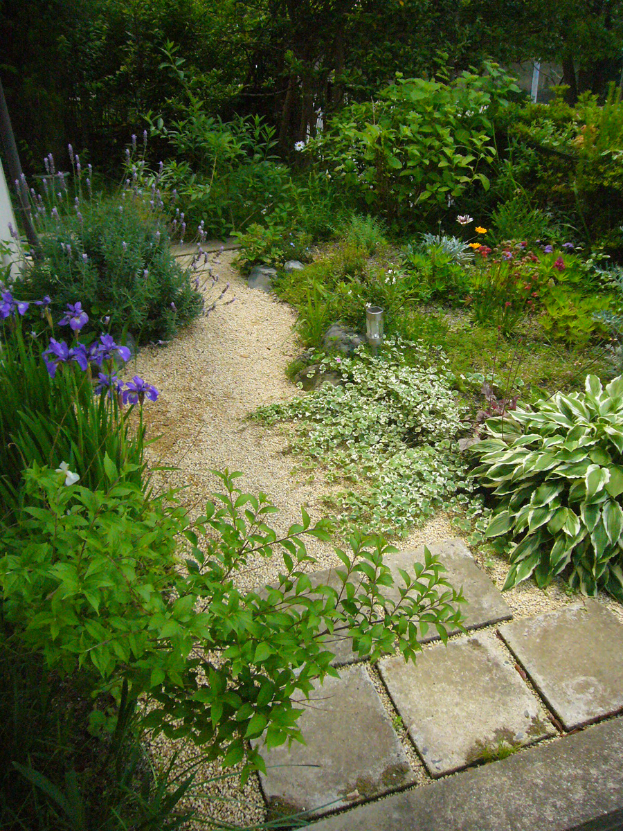 庭園設計・施工・管理|M邸アプローチガーデンリフォーム(滋賀県大津市)