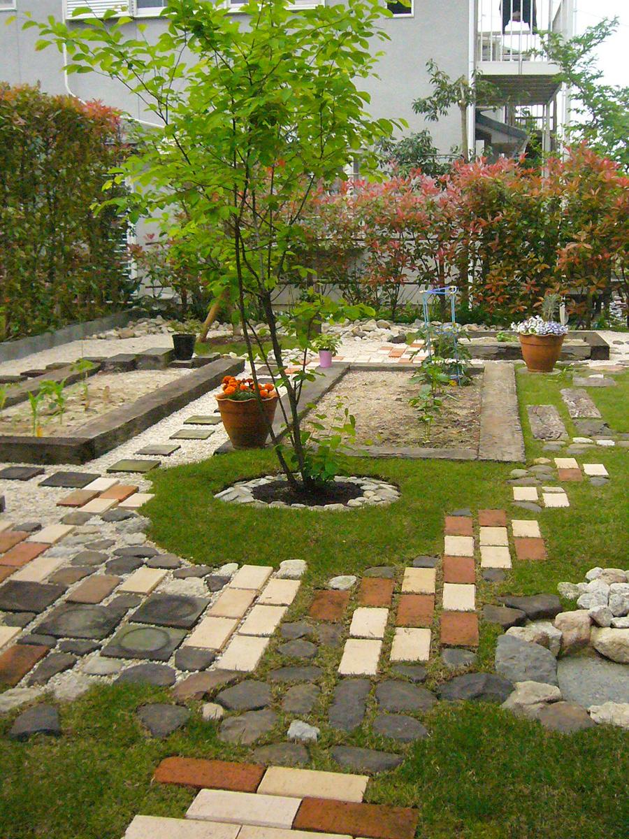 庭園設計・施工・管理|畑を楽しむ庭|ガーデンリフォーム(滋賀県大津市)