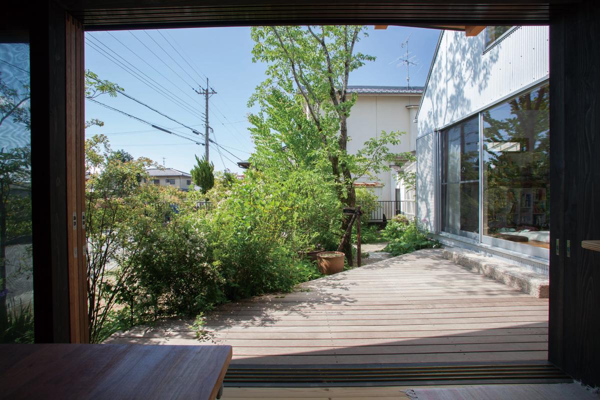 外構・建築のトータルデザイン|植威モデルガーデン(滋賀県大津市)