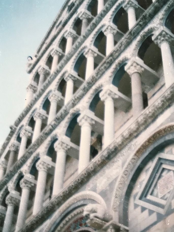 イタリア・ピサで感じた「素敵な配置」